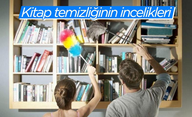Kitap bakımı ve temizliği için uygulanması gereken adımlar