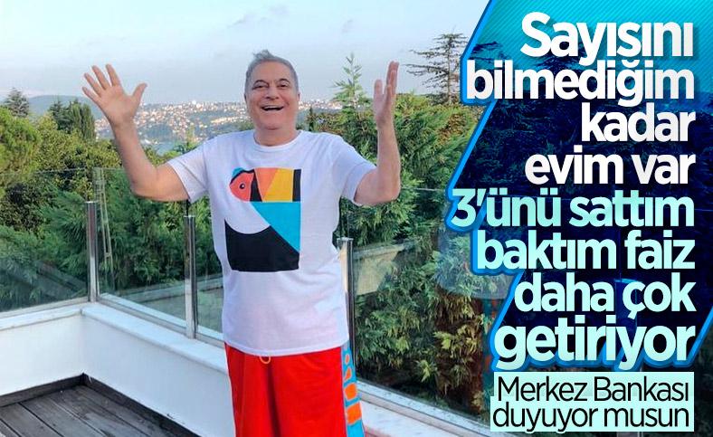 Mehmet Ali Erbil, evlerini satıp parayı faize yatırdı