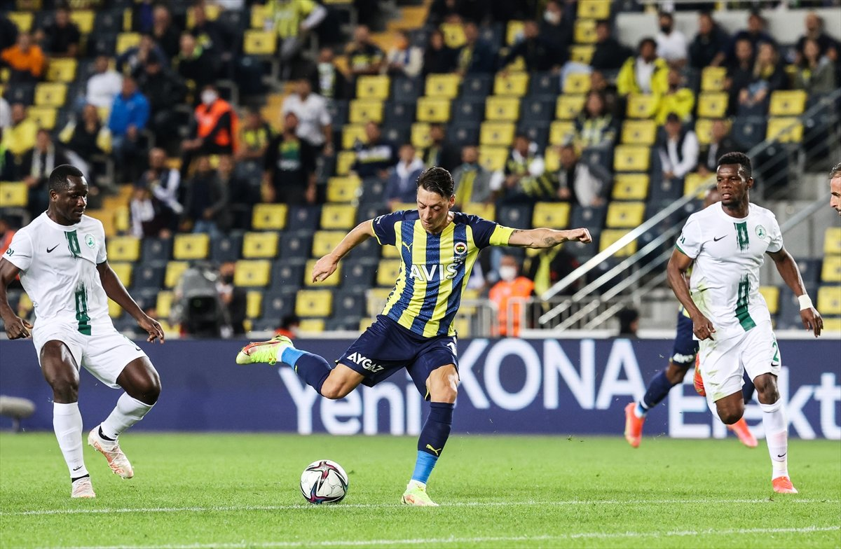 Fenerbahçe, Giresunspor u 2 golle geçti #2