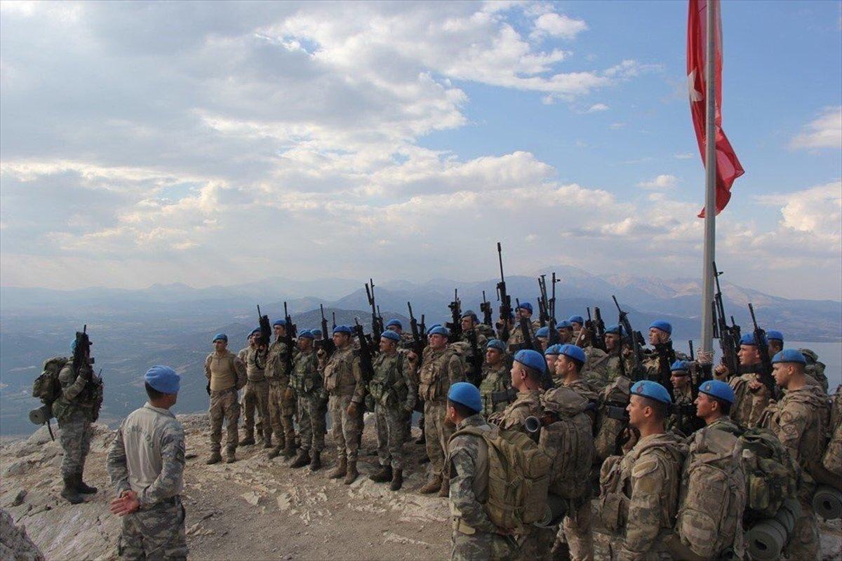 Komandolardan müşterek terörle mücadele tatbikatı #2