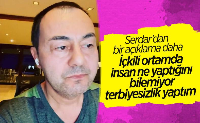 Serdar Ortaç: Terbiyesizlik yaptım