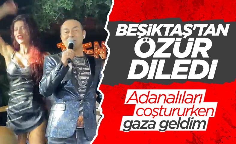 Serdar Ortaç Beşiktaş'tan özür diledi