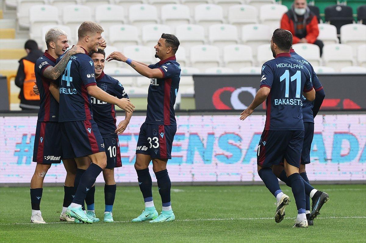 Trabzonspor, Konyaspor la berabere kaldı #1