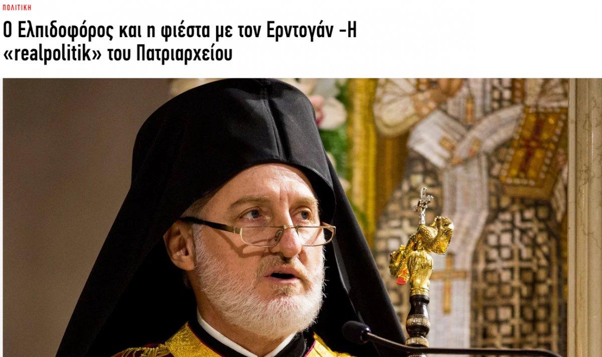 Elpidoforos un Türkevi açılışına katılması Rumları sinirlendirdi  #5