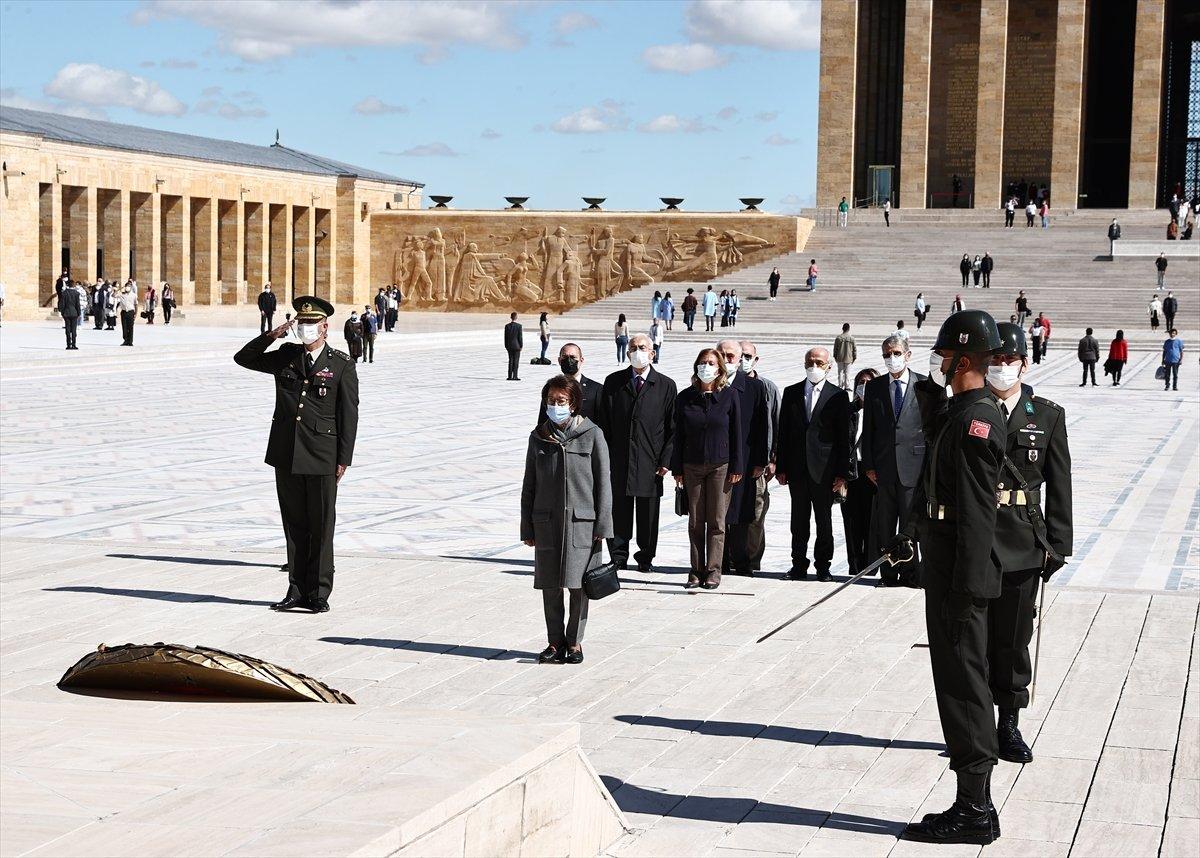 İsmet İnönü için Anıtkabir de sönük tören #2