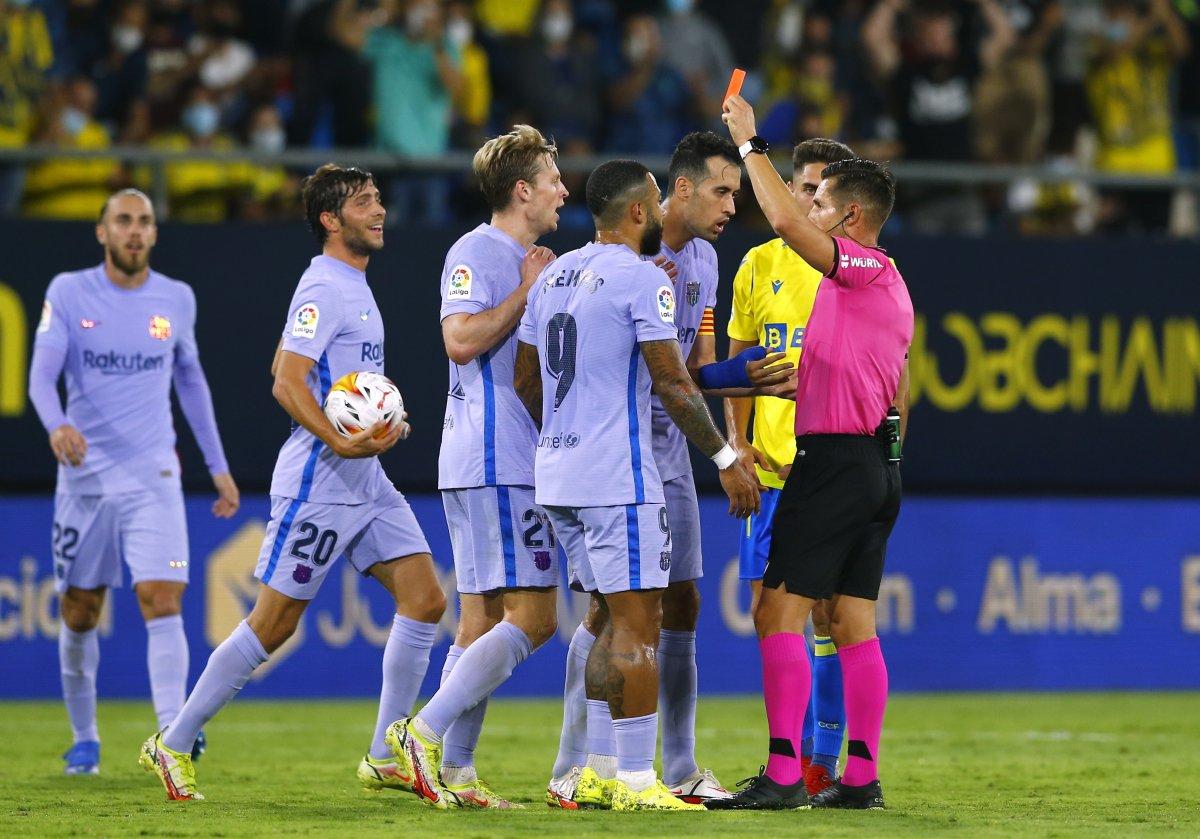 Barcelona Cadiz deplasmanından 1 puanla ayrıldı #2