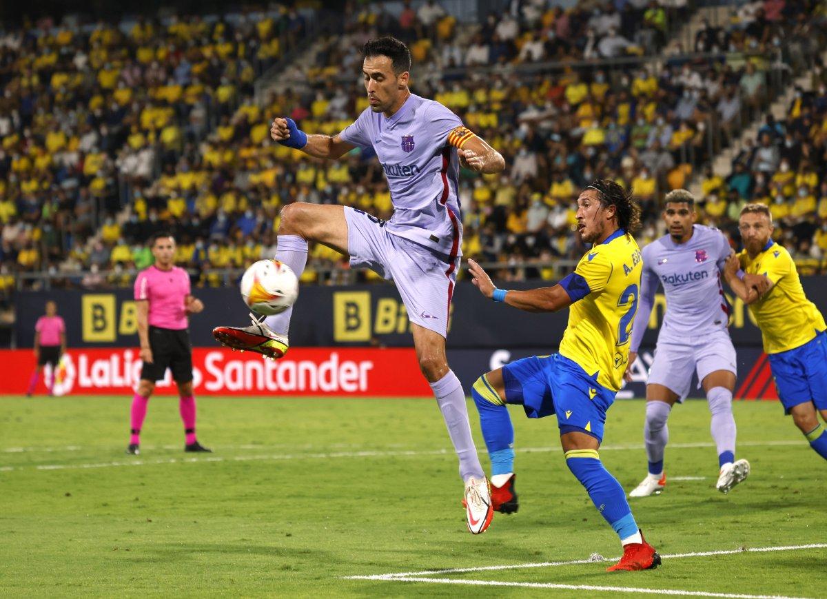 Barcelona Cadiz deplasmanından 1 puanla ayrıldı #1