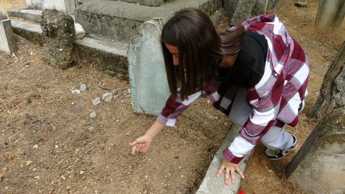 Adıyaman'da canlı canlı mezara gömülen bebeği, öğrenciler buldu #6