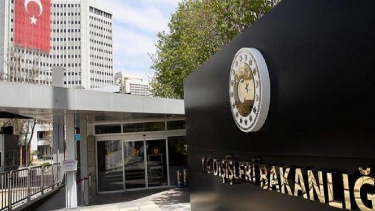 Dışişleri Bakanlığı ndan tepki: Yunanistan bu kısıtlayıcı karardan geri dönmeli #1