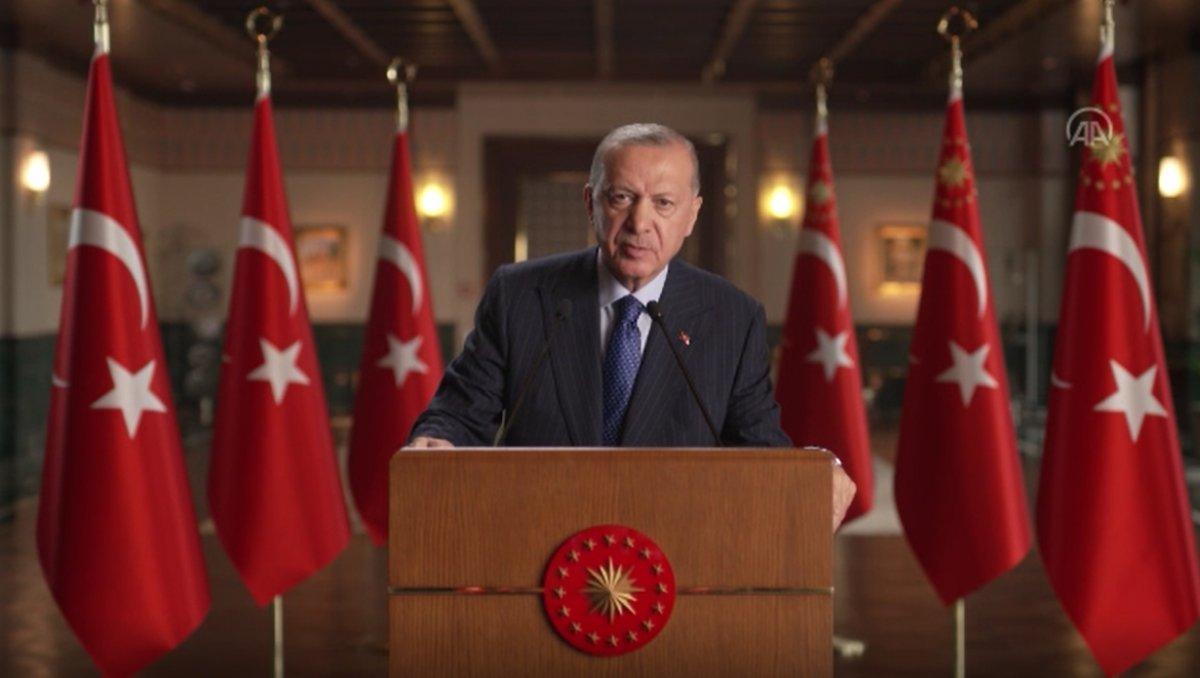 Cumhurbaşkanı Erdoğan: Yenilenebilir enerji kaynaklı kurulu güçte Avrupa da 5 inciyiz #1