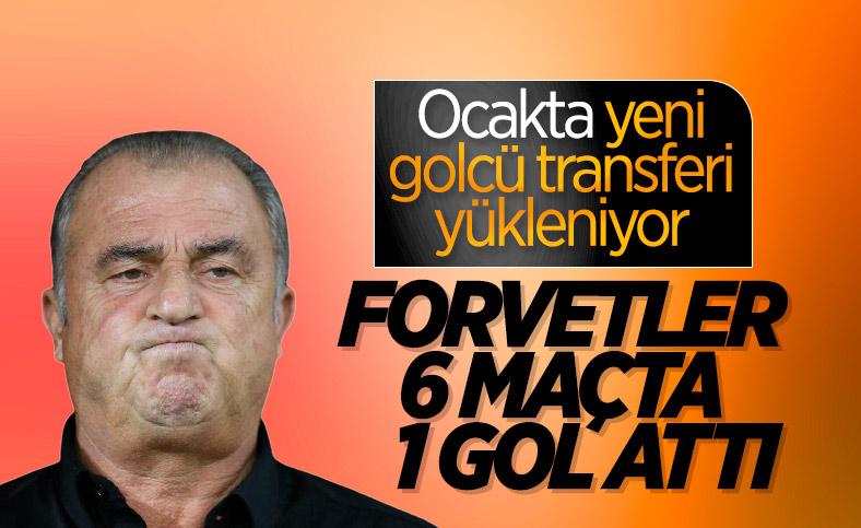 Galatasaray'da gol sıkıntısı devam ediyor