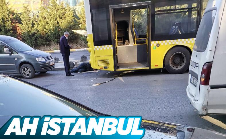 İstanbul'da İETT otobüsü yine arıza verdi