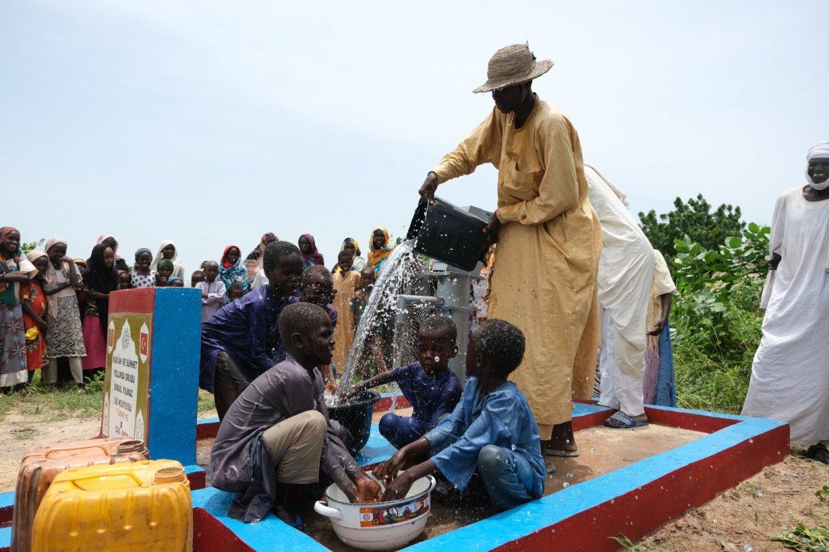 İHH'nın 10 bininci su kuyusu Mali'de açıldı #3