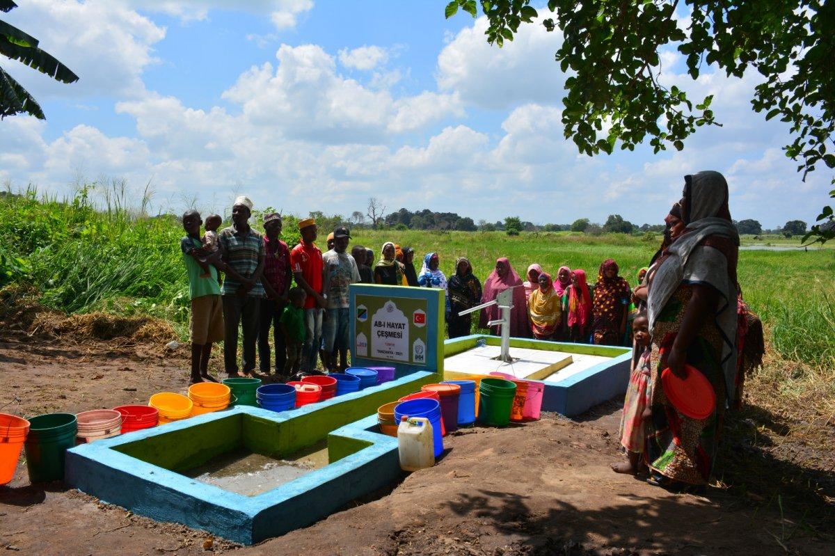 İHH'nın 10 bininci su kuyusu Mali'de açıldı #8