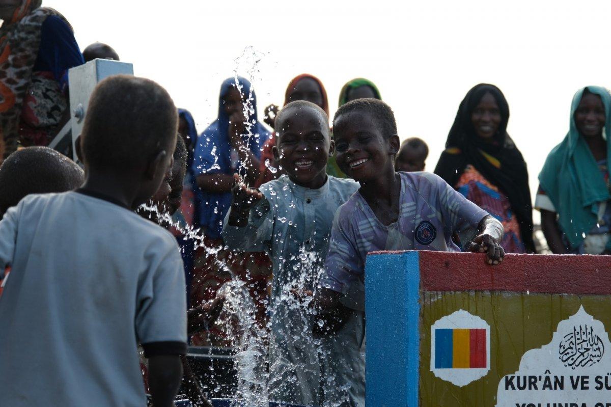 İHH'nın 10 bininci su kuyusu Mali'de açıldı #1