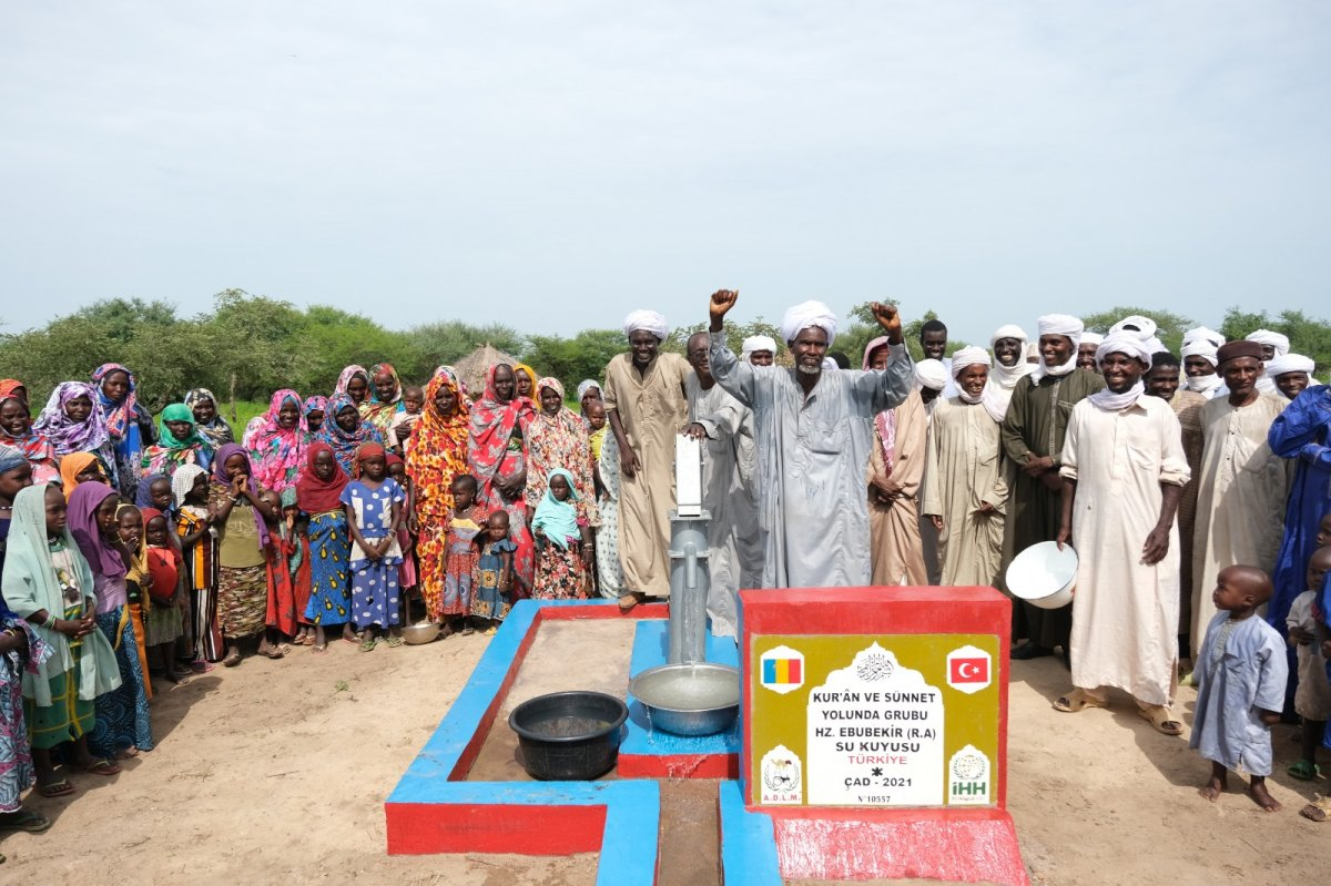 İHH'nın 10 bininci su kuyusu Mali'de açıldı #7