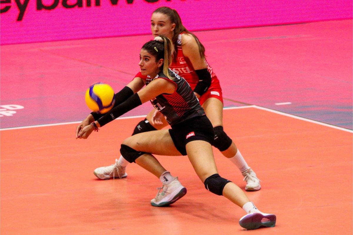 Türkiye, Dünya 18 Yaş Altı Kadınlar Voleybol Şampiyonası nda son 16 da #1