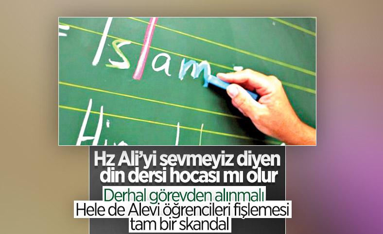 MEB'den, Alevi sorgusu yaptığı iddia edilen Din Kültürü öğretmenine soruşturma