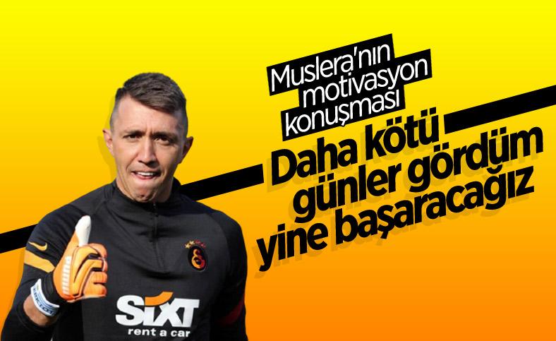Fernando Muslera: Burası Galatasaray birlikte çıkacağız