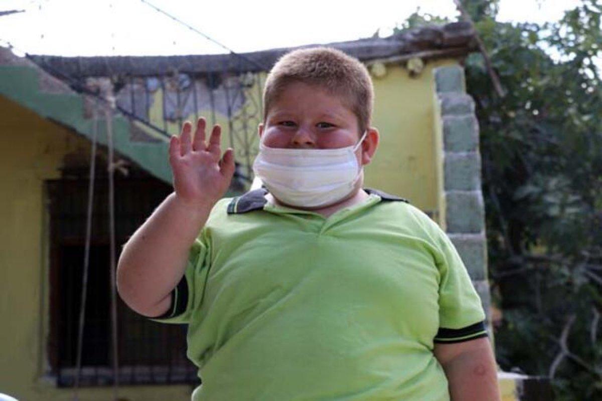 Gaziantep te Prader Willi sendromlu küçük Mustafa, yardım bekliyor #1