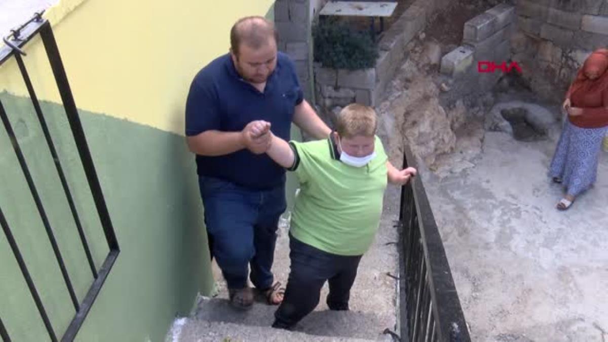 Gaziantep te Prader Willi sendromlu küçük Mustafa, yardım bekliyor #9
