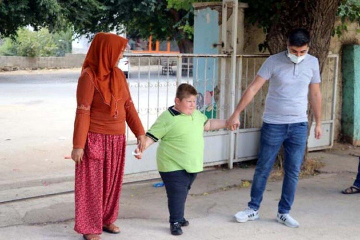 Gaziantep te Prader Willi sendromlu küçük Mustafa, yardım bekliyor #3