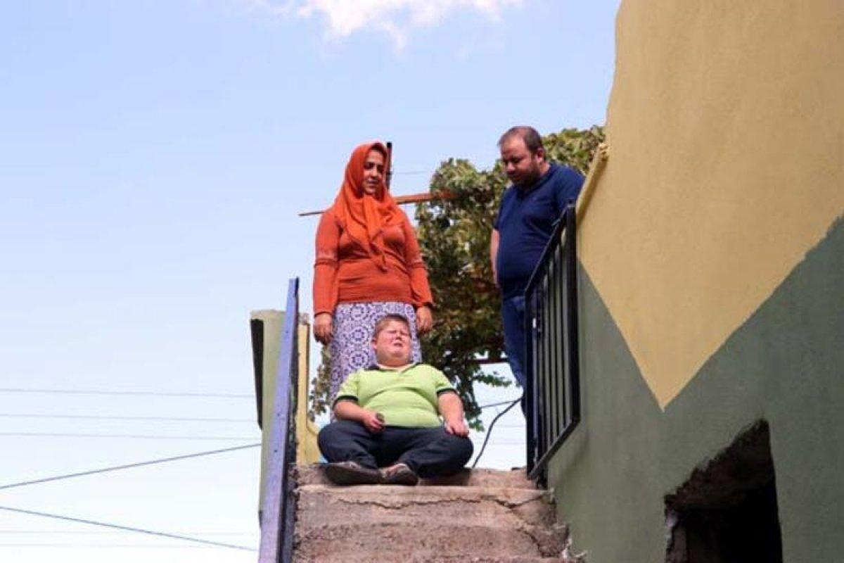 Gaziantep te Prader Willi sendromlu küçük Mustafa, yardım bekliyor #8