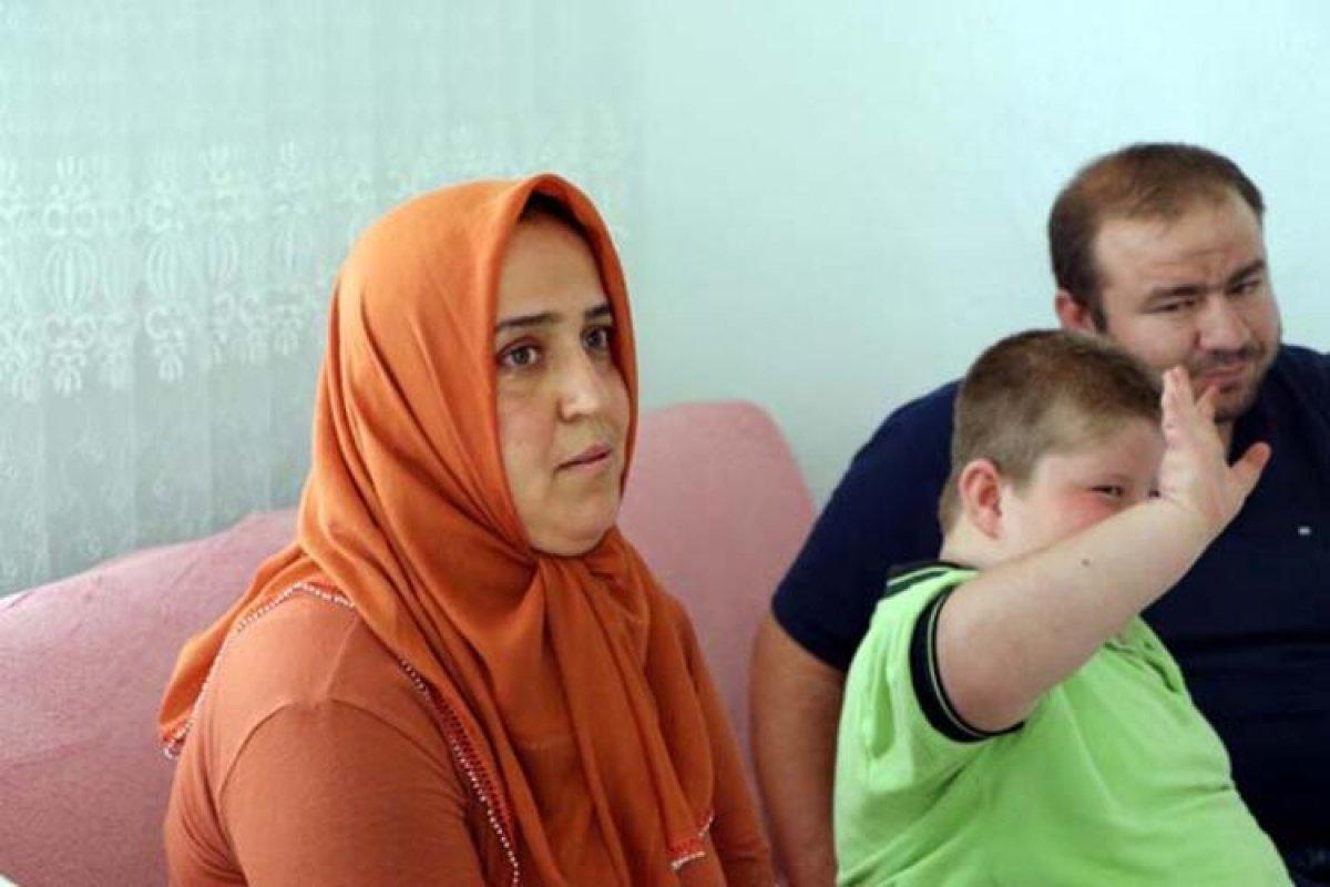 Gaziantep te Prader Willi sendromlu küçük Mustafa, yardım bekliyor #2