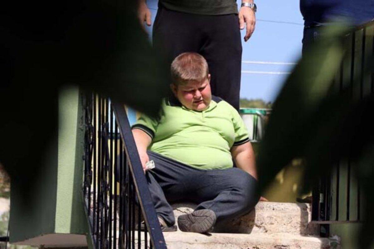 Gaziantep te Prader Willi sendromlu küçük Mustafa, yardım bekliyor #4