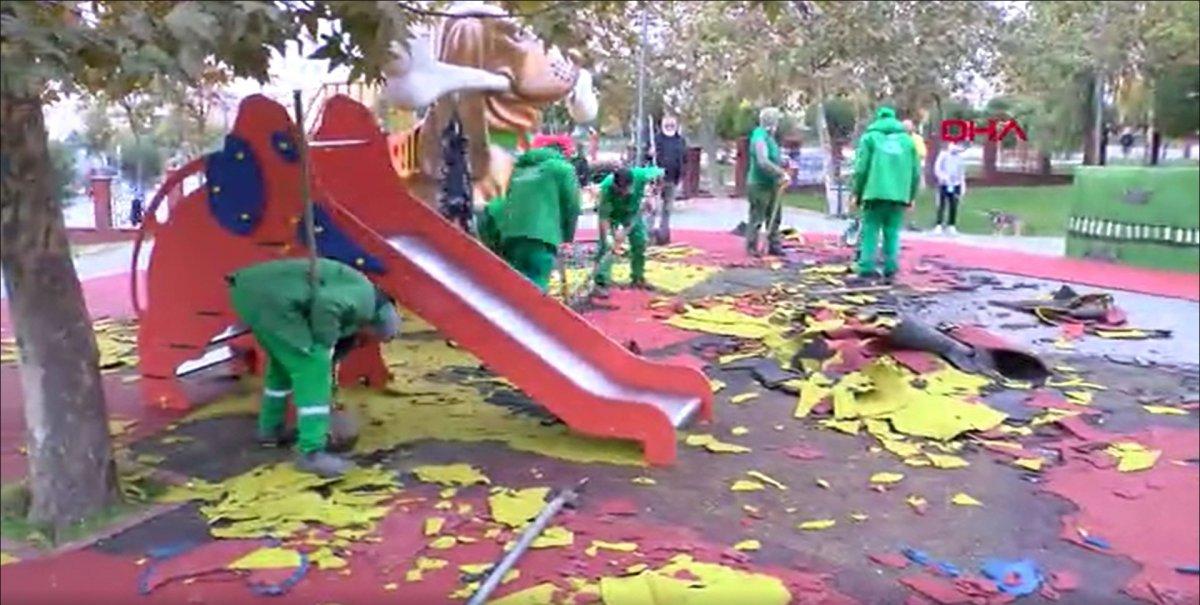 Küçükçekmece'de, çocuk parkındaki PKK/KCK sembollerine ilişkin davada hapis istemi  #6