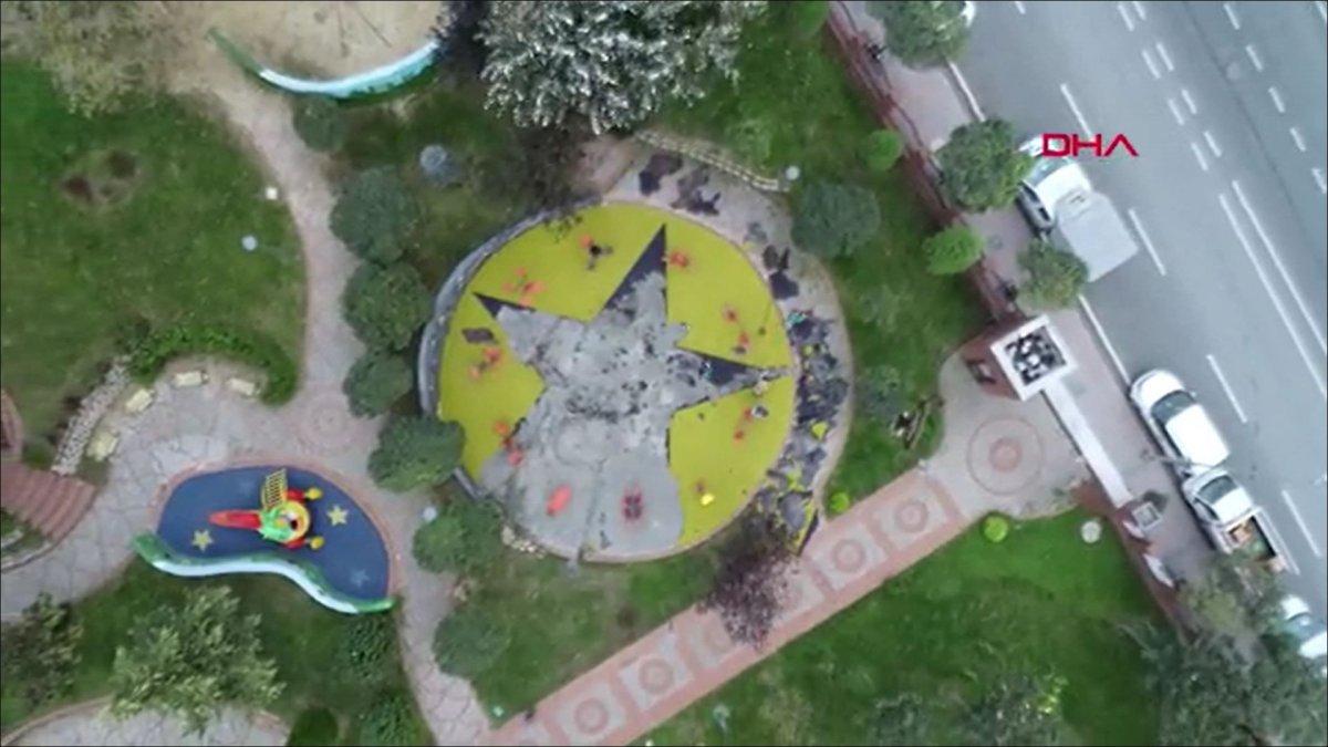 Küçükçekmece'de, çocuk parkındaki PKK/KCK sembollerine ilişkin davada hapis istemi  #2