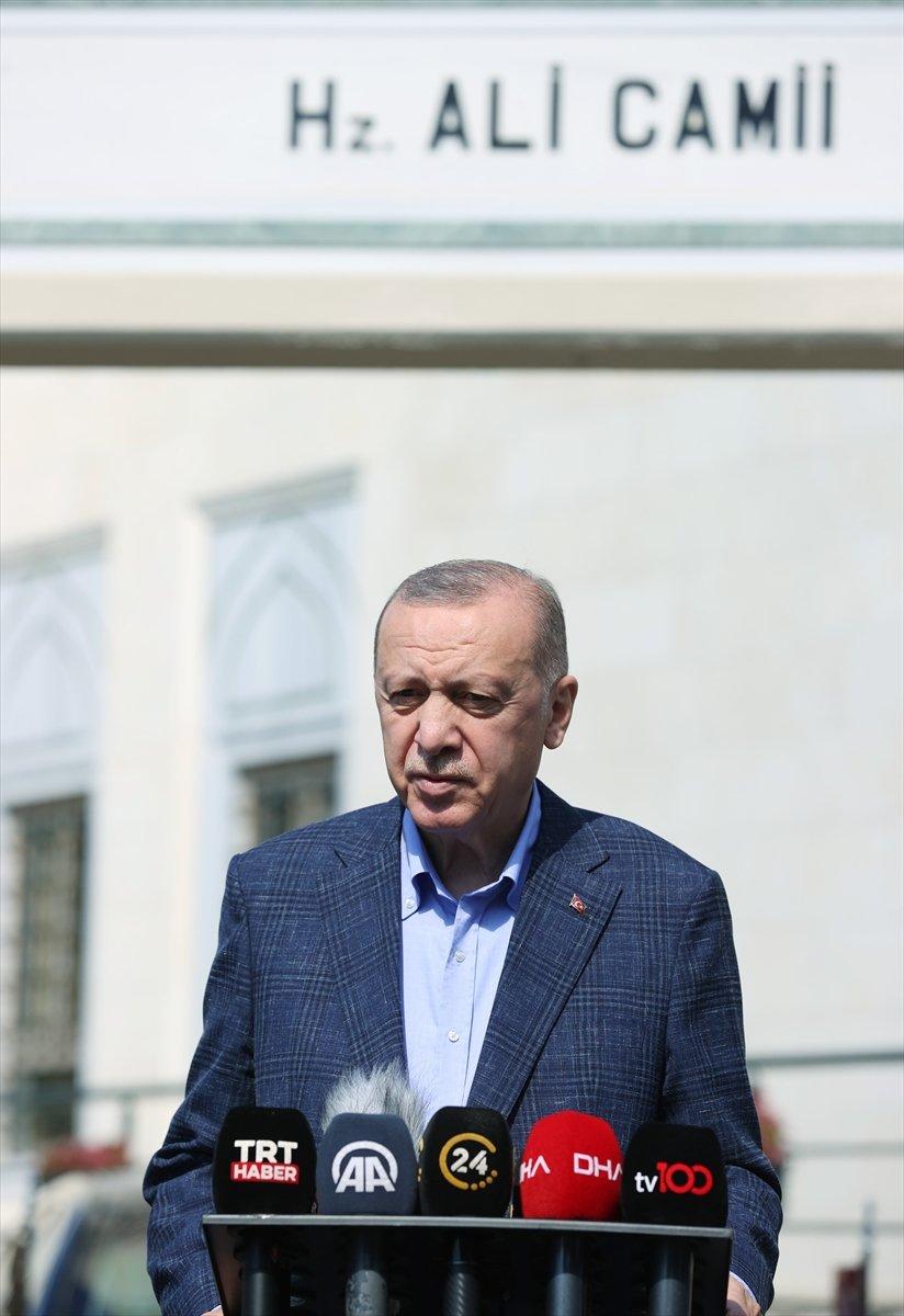 Cumhurbaşkanı Erdoğan dan maske açıklaması #2