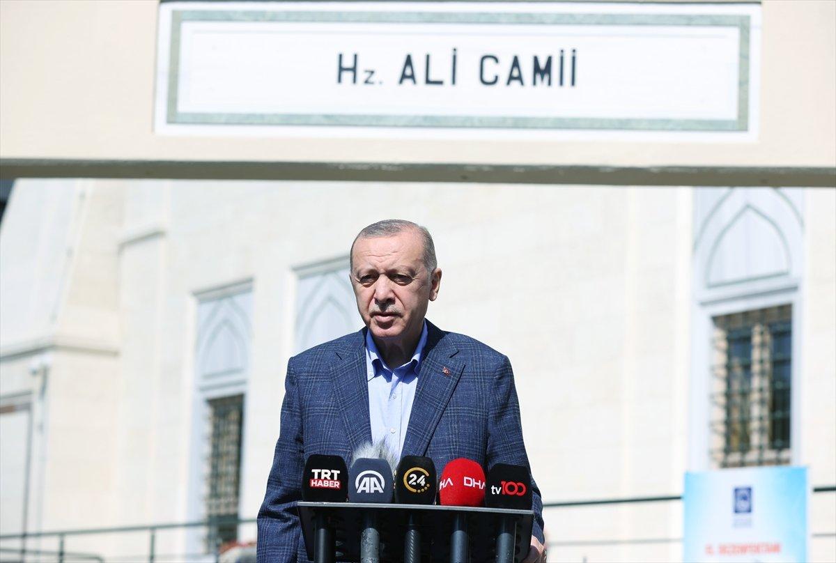 Cumhurbaşkanı Erdoğan dan maske açıklaması #1