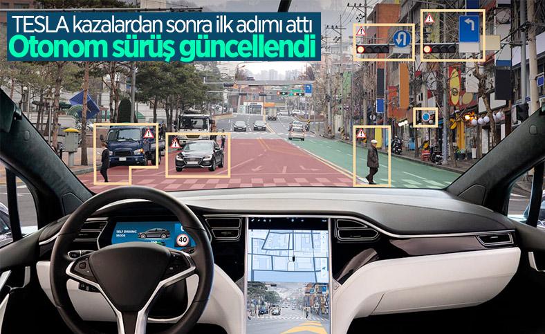 Kazalara karşı önlem: Tesla otonom sürüş özelliğini güncelledi
