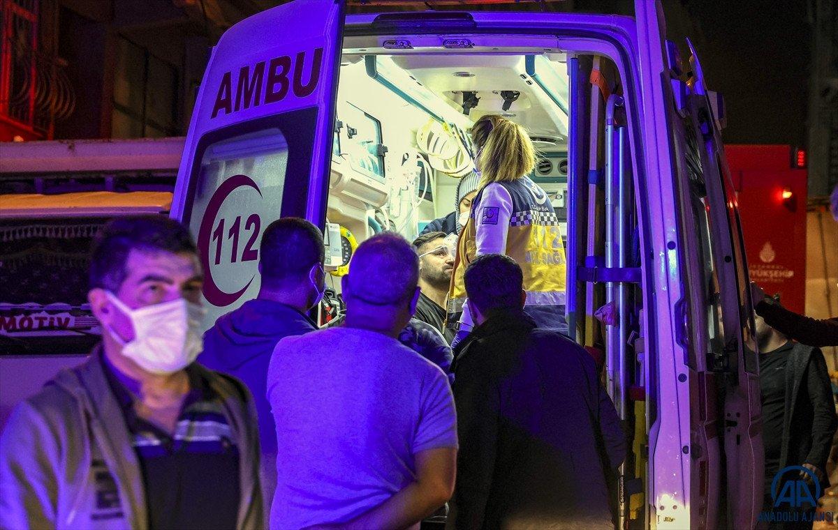 Sultangazi de yangın: 11 kişi dumandan etkilendi #3