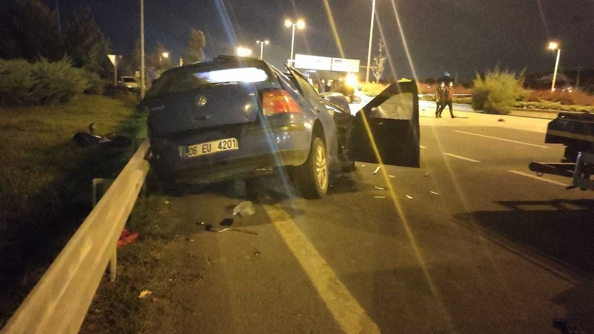 Ankara'da işçilere araba çarptı: 2 ölü, 2 yaralı #4
