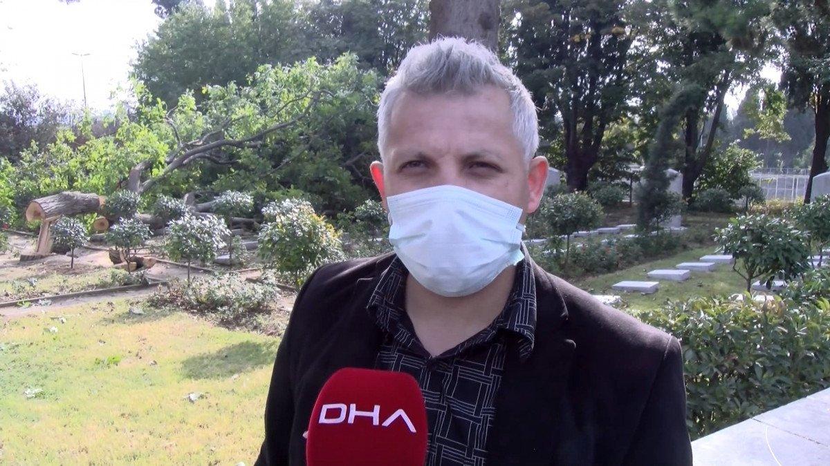 Edirnekapı Şehitliği'ndeki ağaç kesimi tepki topladı #10
