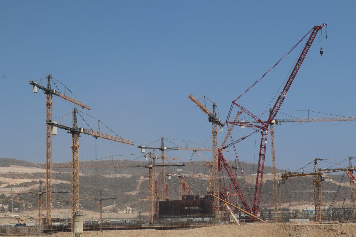 Akkuyu NGS de dünyanın en güçlü inşaat vinçlerinden biri daha devreye #2