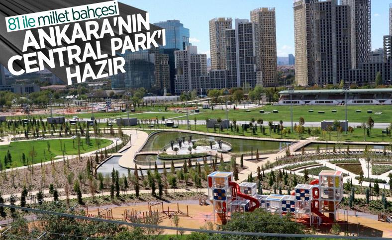 Ankara'da Atatürk Kültür Merkezi Millet Bahçesi, 28 Ekim'de açılacak
