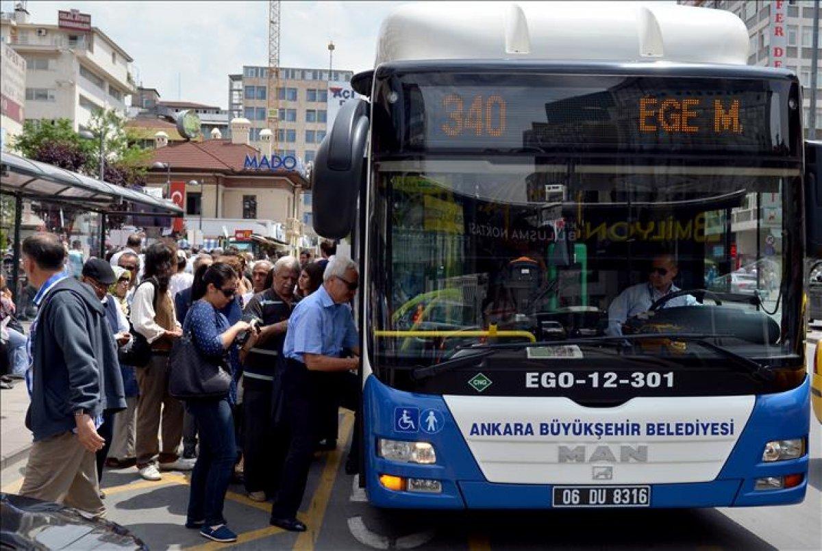 Ankara da metro ve otobüslerin son sefer saatleri uzatıldı #2