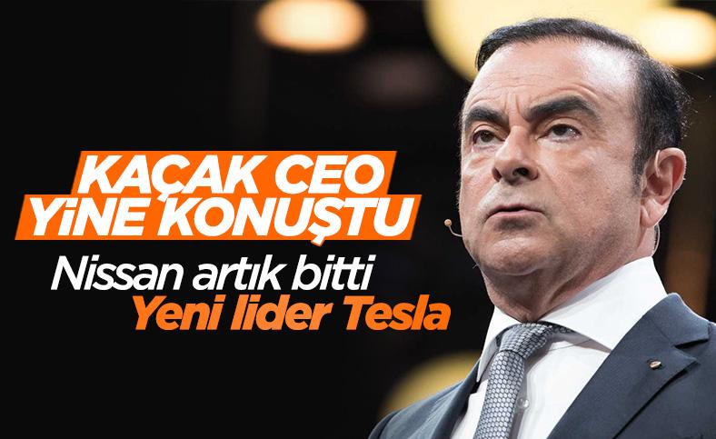 Kaçak eski Nissan CEO'su Carlos Ghosn, Nissan'ı topa tuttu