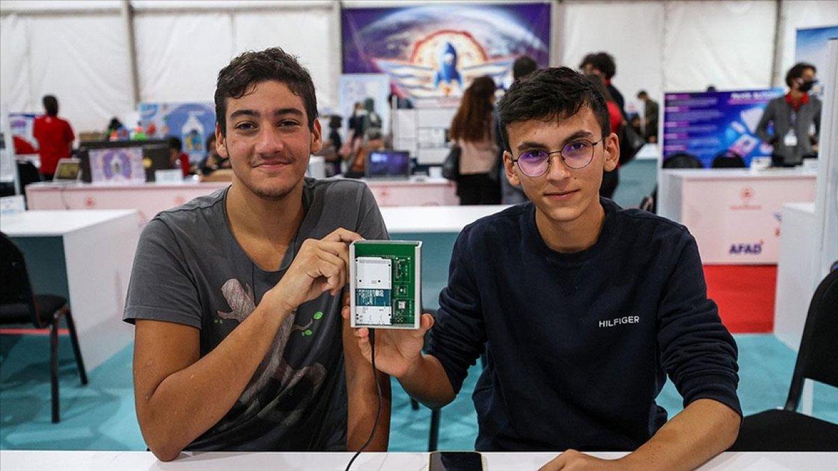 CERN in cihazını yerlileştiren lise öğrencisi TEKNOFEST te yarışıyor #1
