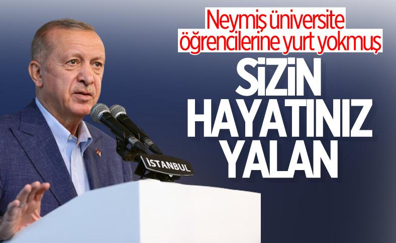 Cumhurbaşkanı Erdoğan, Darülaceze Tesisleri Açılış Töreni'nde konuştu