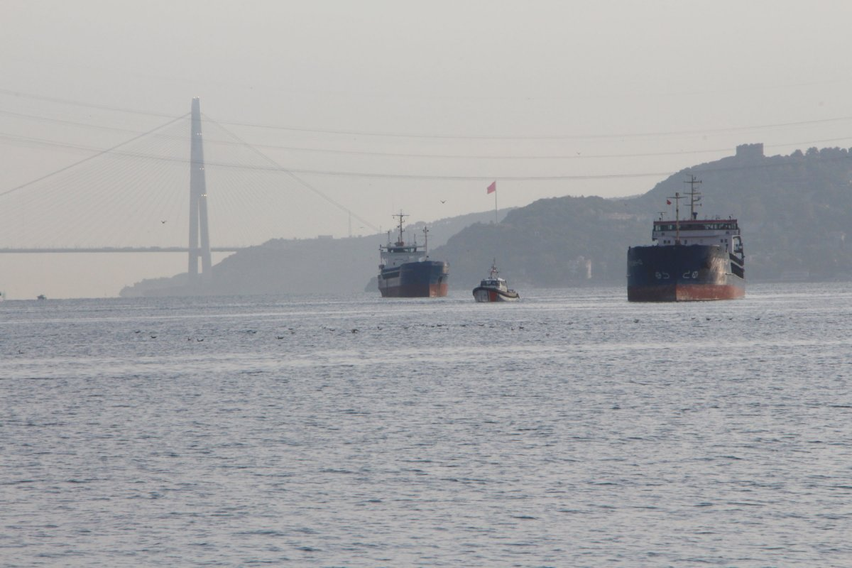 Türk ve Rus bandralı iki kuru yük gemisi çarpıştı #3