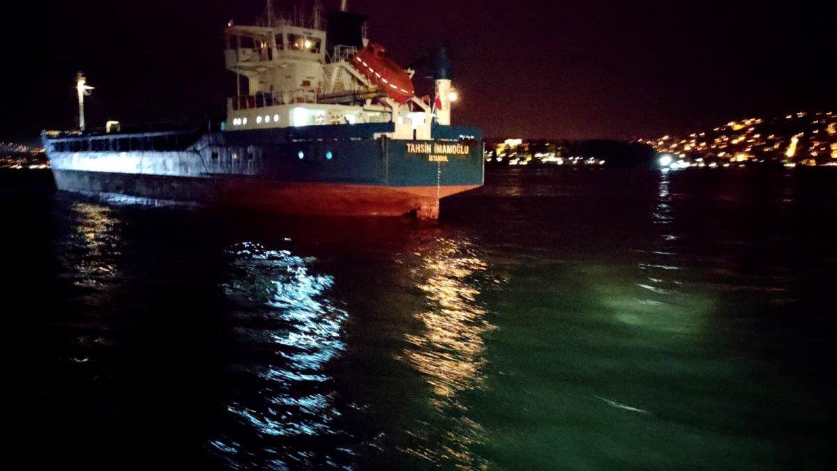 Türk ve Rus bandralı iki kuru yük gemisi çarpıştı #2