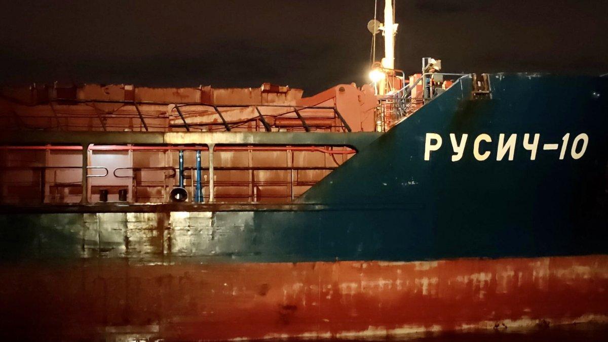 Türk ve Rus bandralı iki kuru yük gemisi çarpıştı #1