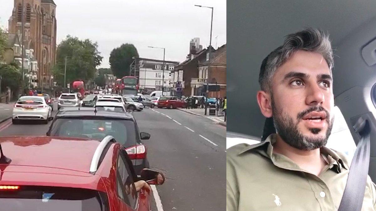İngiltere de benzin kuyruğunda bekleyen Türk ün isyanı #4
