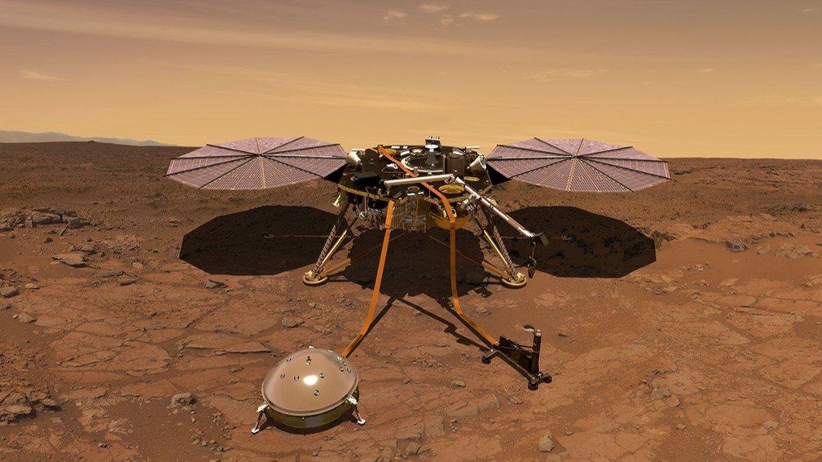 NASAnın InSight aracı Marstaki en şiddetli depremi kaydetti