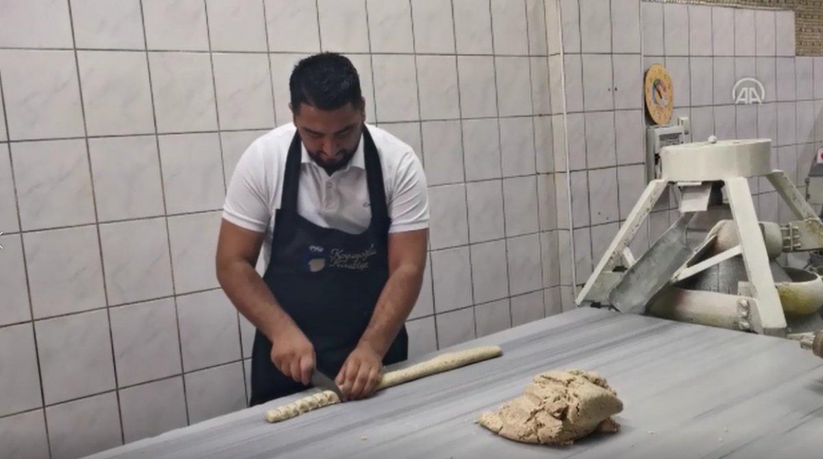 Malatya da kayısı çekirdeğinden kurabiye yok satıyor #8