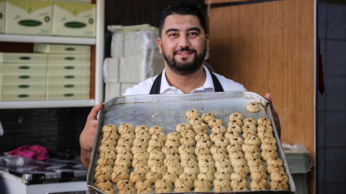 Malatya da kayısı çekirdeğinden kurabiye yok satıyor #2